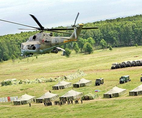 Russia's defense ministry announces joint air-defense exercises