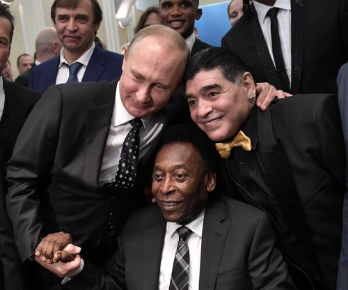 World Cup 2018: Vladimir Putin, Diego Maradona, Pele attend final draw