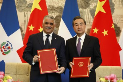 Dominican Republic breaks with Taiwan, recognizes China