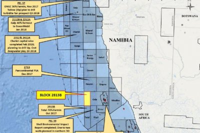 Namibia emerging as next West African oil frontier