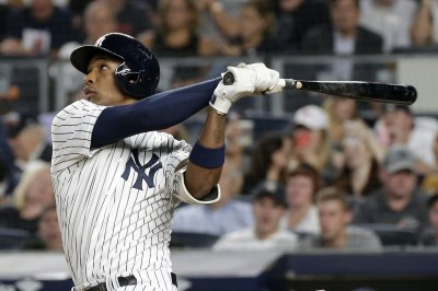 Yankees place third baseman Miguel Andújar on injured list with right labrum tear