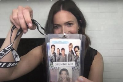 Mandy Moore recalls opening for Backstreet Boys at age 15