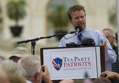 Tea Party Republicans show early 2016 preference for Rand Paul