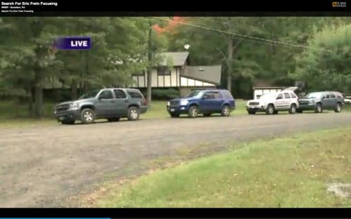 Report: Eric Frein called parents, narrowing search for him