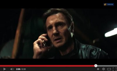 Liam Neeson is framed for murder in first 'Taken 3' trailer