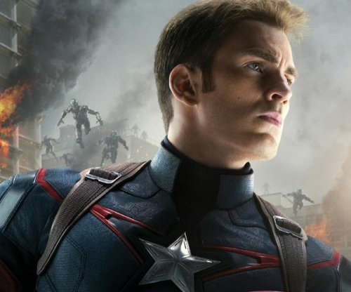 Chris Evans shares Captain America poster for 'Avengers: Age of Ultron'