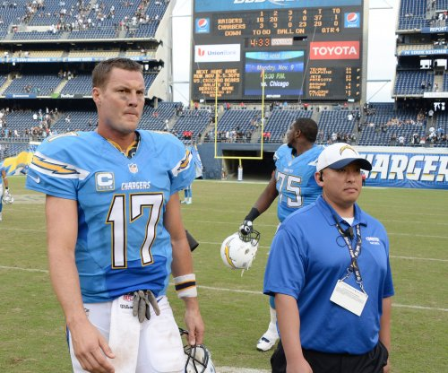 San Diego Chargers QB Philip Rivers probable