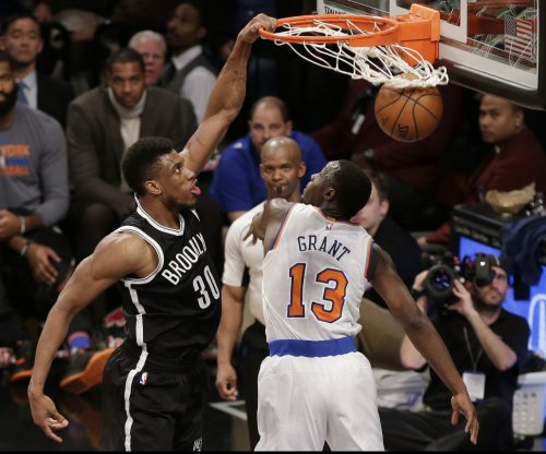 Brooklyn Nets control Kristaps Porzingis, New York Knicks