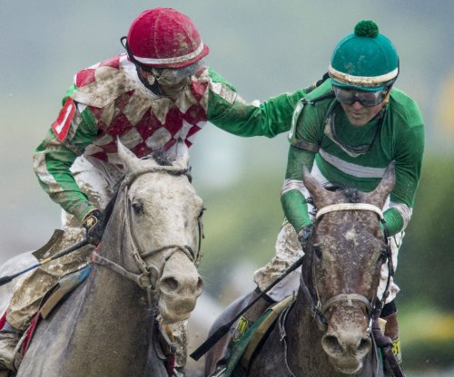 Exaggerator wins Preakness; Nyquist third