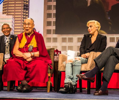 Dalai Lamas speaks to Lady Gaga: 'Hope is essential to keep the world going'