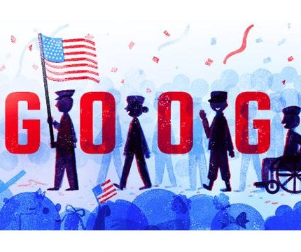 Google welcomes Veterans Day with new patriotic Doodle