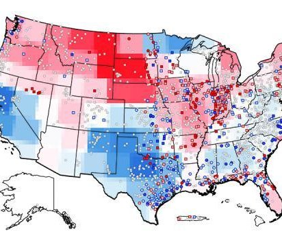 New map details shifting flood risks in the United States