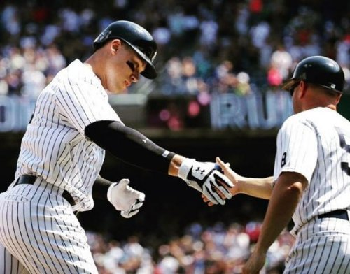 New York Yankees RF Aaron Judge to start on Opening Day