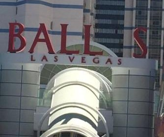 Bally's sign loses letter Y, becomes 'Balls, Las Vegas'