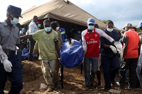 Bodies of 24 Zimbabwean miners brought to surface
