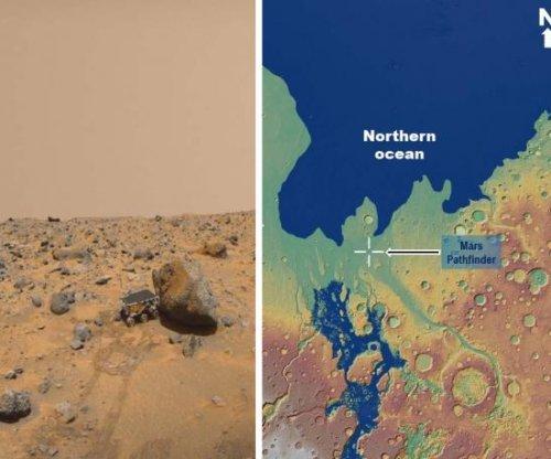 NASA rover may have visited ancient Martian sea in 1997