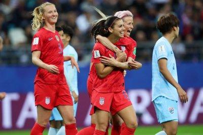 Women's World Cup: USA's Alex Morgan scores five goals in 13-0 romp over Thailand