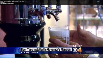 Beer taps installed in Colorado Governor's Mansion