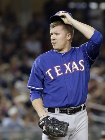 Rangers shut out the Indians