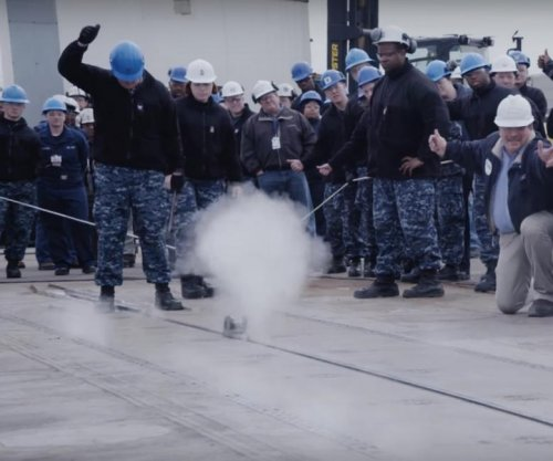 Overhauled steam catapults tested on USS Abraham Lincoln