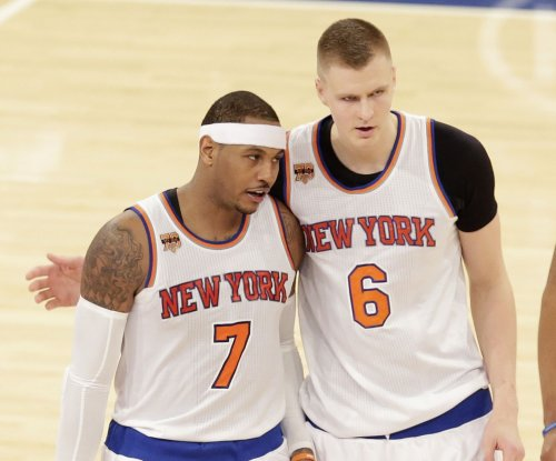 Carmelo Anthony, Kristaps Porzingis propel New York Knicks past Atlanta Hawks