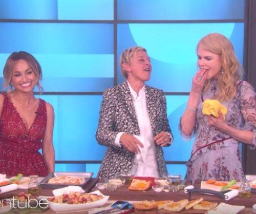 Nicole Kidman spits out Giada De Laurentiis' food on 'Ellen'
