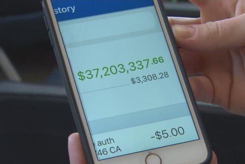 Bank mistakenly deposits $37 million into woman's account