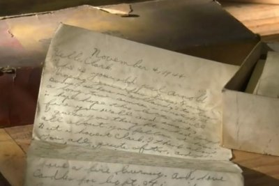 Man finds letter from World War II in box of truck parts