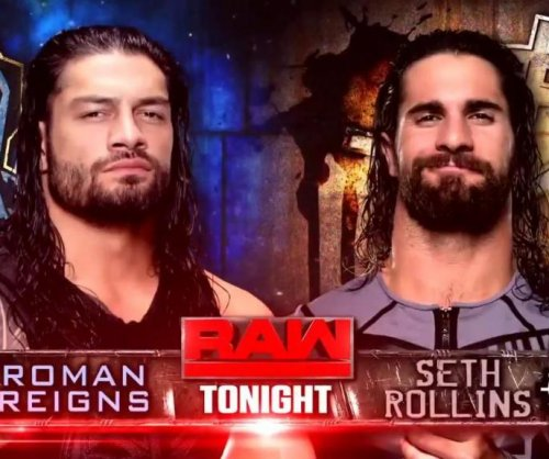 WWE Raw: Roman Reigns, Seth Rollins clash