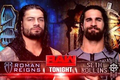 WWE Raw: Roman Reigns, Seth Rollins clash