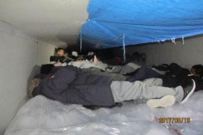 Border Patrol discovers 60 undocumented immigrants in chilled trailer