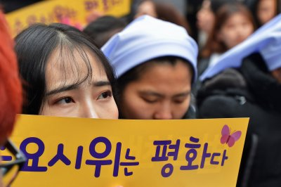 Japan addresses 'comfort women' issue in message to South Korea