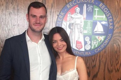 Cooper Hefner marries Scarlett Byrne of 'Harry Potter' fame