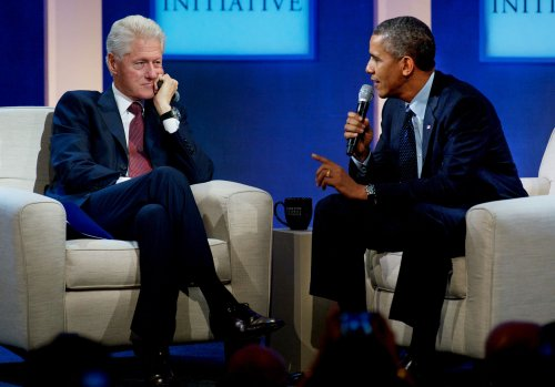 Obama, Bill Clinton promote Affordable Care Act