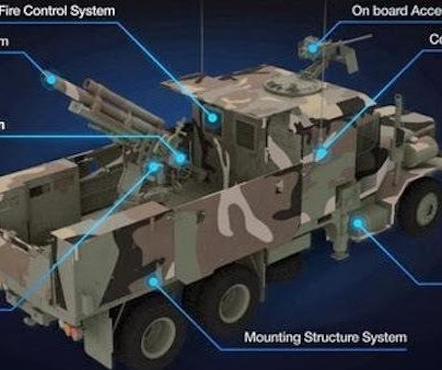 South Korea develops self-propelled howitzer