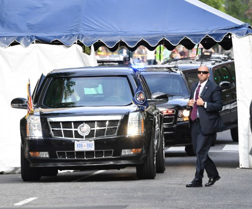 Press drivers in Trump motorcade replaced after firearm found