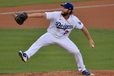 MLB playoffs: Kershaw strikes out 13 as Dodgers sweep Brewers