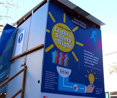 University's 'pee power' toilet turns urine into electricity