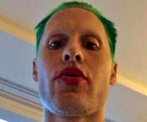 Jared Leto shares new photo of Joker look for 'Suicide Squad'