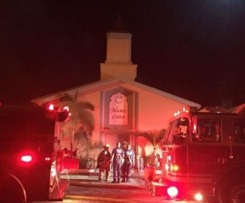 Possible arson at Florida mosque where Orlando shooter prayed