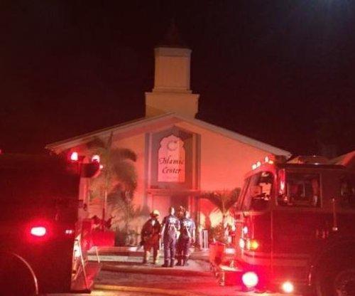 Possible arson at Florida mosque where Orlando shooter prayed