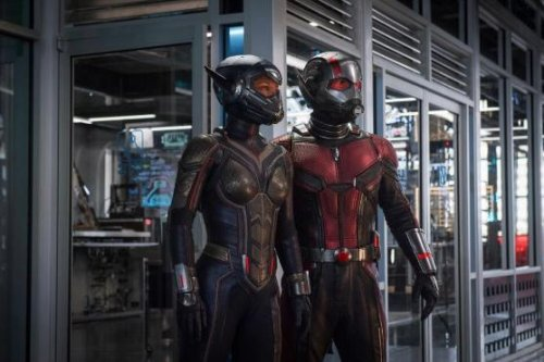 Paul Rudd, Evangeline Lilly suit up in new 'Ant-Man and the Wasp' photo