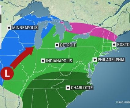 Meteorologists track potential for 1st major storm of 2020
