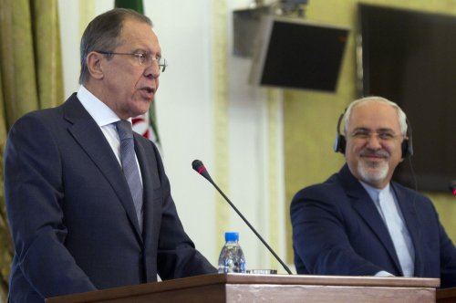 Russia says Iran should attend Syria peace talks