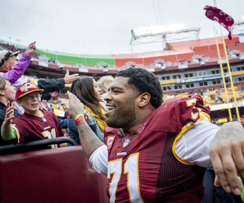 Washington Redskins' Trent Williams coming back from sore knee