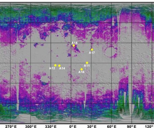Scientists map water across moon's soil, a first