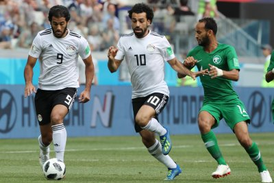 World Cup: Mo Salah puts Egypt ahead of Saudi Arabia with tapping finish