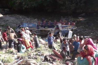 At least 35 dead after bus crash in Kashmir