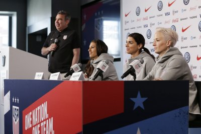 Judge dismisses U.S. women's soccer team's claim of unequal pay