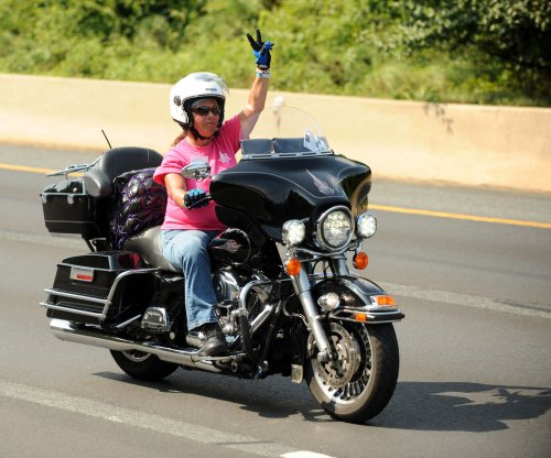 Harley-Davidson survey says women who ride motorcycles sexier